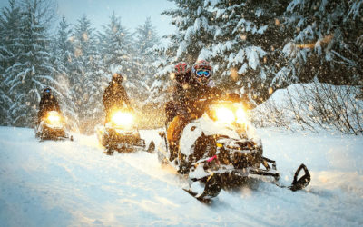 8 smart tips for safe snowmobiling.